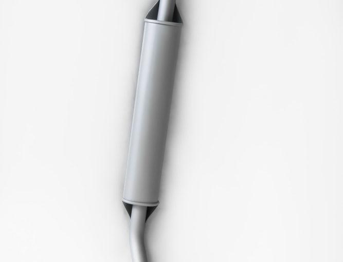 Резонатор ВАЗ 21214 Евро-2 инжектор , фланец 2-е шпильки ГОСТ «ТВС»