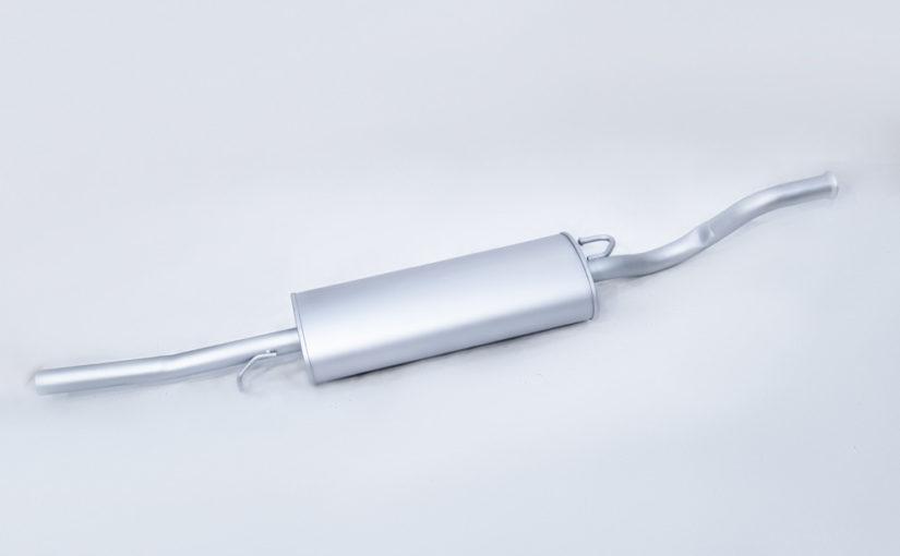 Глушитель основной ВАЗ 2110 нового образца после 2008г.Стандарт «ТВС»