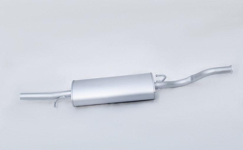 Глушитель основной ВАЗ 2112 нового образца после 2008г. Стандарт «ТВС»