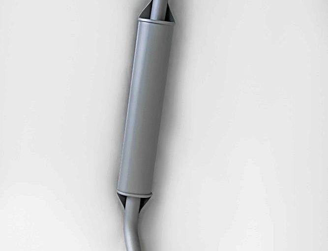 Резонатор ВАЗ 21214 инж. Флянец 2-е шпильки Premium «ТВС»