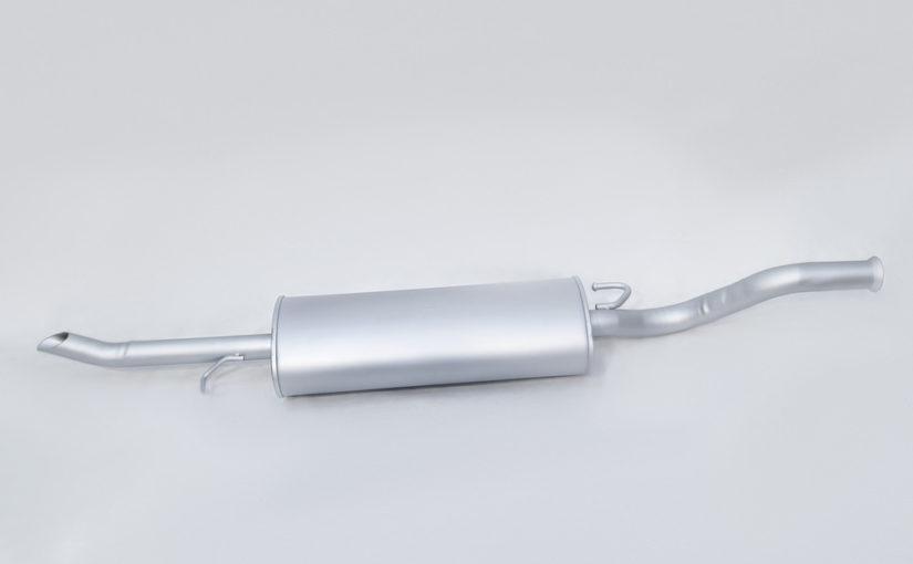 Глушитель основной ВАЗ 2170, ВАЗ 2171 от ВАЗ 2110 нового образца Стандарт «ТВС»