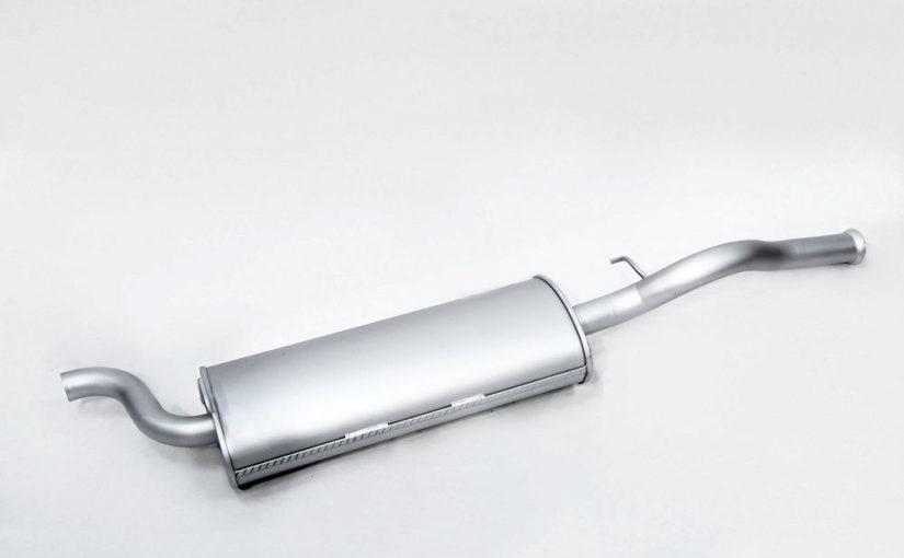 Глушитель основной ВАЗ 1118, ВАЗ 1117 от ВАЗ 2110 нового образца Premium «ТВС»