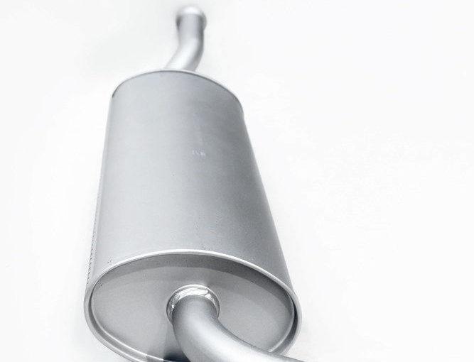 Глушитель основной ВАЗ 1118, ВАЗ 1117 Premium «ТВС»