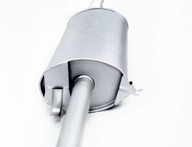 Глушитель основной ВАЗ 21099 Premium «ТВС»