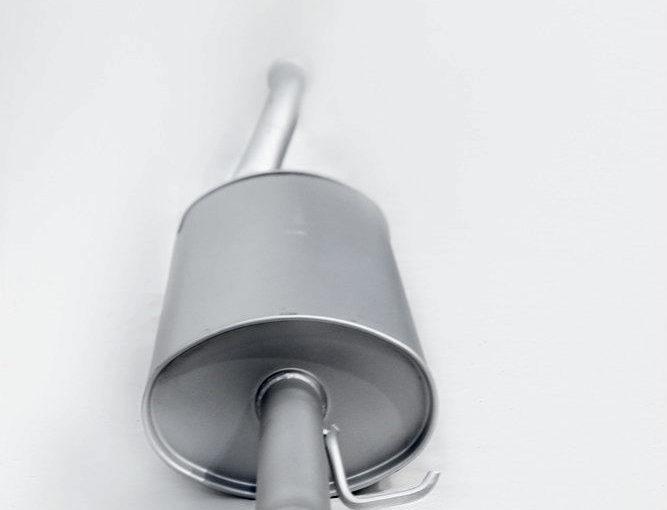 Глушитель основной ВАЗ 2110/70 после 2008г. Premium «ТВС»