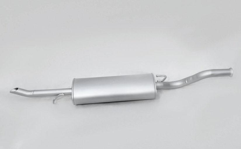 Глушитель основной ВАЗ 2170, ВАЗ 2171 нового образца Premium «ТВС»