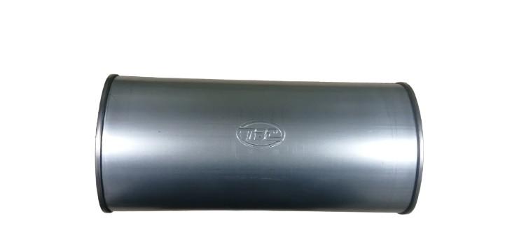 Глушитель универсальный основной ГУО-51/450 Р-р 450мм, труба вх./вых. — ф 51 AL. лист и дно 1.2 AL, труба 1.5. Перф.ф3.5мм аналог Saab 9003 и FOX! Стекловол. E-glass США 1 кг! tvs509